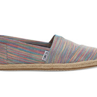 BLUE ASTER SPACE DYE WOMEN'S ESPADRILLES