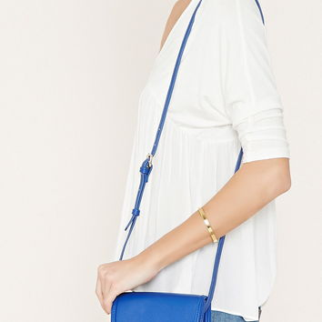 Faux Leather Mini Crossbody | Forever 21 - 1000170850