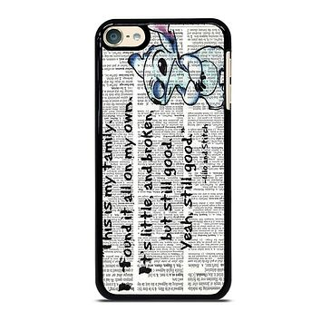 LILO AND STITCH QUOTES Disney iPhone Case
