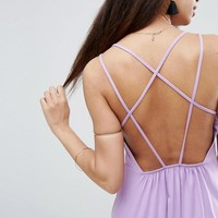 ASOS Strappy Back A-line Sundress at asos.com