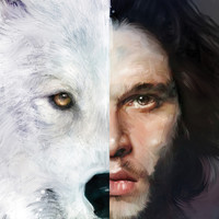 Kit Harington 'Jon Snow' Game of Thrones Canvas Print by Vlad Rodriguez