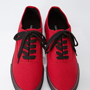 Classic Canvas Sneakers from Forever 21  39c1989c68