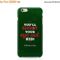 iPhone 6s, Samsung Galaxy, A Christmas Story, iPhone Case, Phone Case, Phone Cover, You'll Shoot Your Eye Out, Ralphie, Red Rider BB Gun