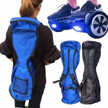 DCCK1IN 2017 new backpack carrying bag 6 5 8 10 inch self balancing smart hover board case electric scooter practical accessories