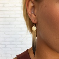 Golden Ombre Earrings