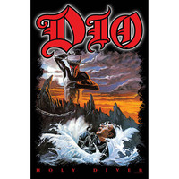 Dio Poster Flag