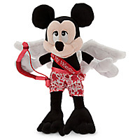Mickey Mouse Cupid Plush - Valentine's Day - 9''