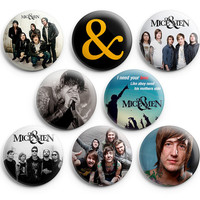 Of Mice & Men Pinback Buttons Badge 1.25 inch (Set of 8) NEW