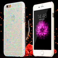 New Arrival! Cute Spots Luminous Glow in Dark Cell Phone cases for iphone  5 5S/6 6S /6Plus /6S Plus Hard carry covers