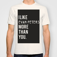 Evan Peters American Horror Story T-shirt by NameGame | Society6