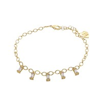 Duchess Square Cut Anklet
