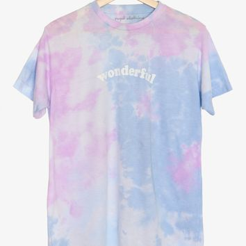 Wonderful Tie Dyed Tee