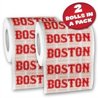 Double Header - 2 Pack of Boston Toilet Paper  - Whimsical & Unique Gift Ideas for the Coolest Gift Givers