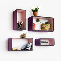 Lana Wall Shelf - Set of 4
