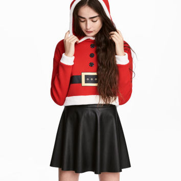 H&M Hooded Christmas Sweatshirt $24.99