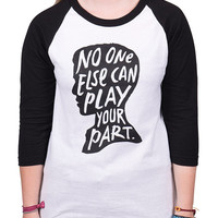 To Write Love on Her Arms Official Online Store - No One Else Baseball Tee