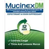Mucinex DM Maximum Strength Expectorant & Cough Suppressant Extended Release Bi-Layer Tablets - 28 Count