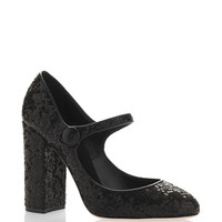 Sequin Mary Jane Pump | Moda Operandi