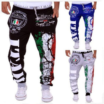 Alphabet Print Casual Pants Outdoors Hot Sale Sportswear [6542523139]