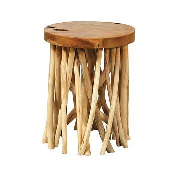 Back Forty Accent Table - Natural