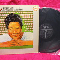 Amazing Ella Fitzgerald  Ella Wishes You A Swinging Christmas Vinyl Record LP Jazz Near Mint 1982