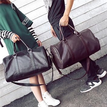Leather Travel Bag Extra Large Weekend Duffel tote Big Messenger Bag