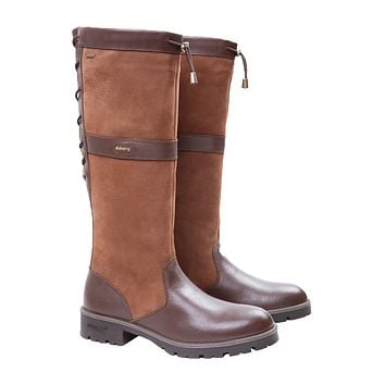 Women's Glanmire Boot in Walnut by Dubarry