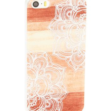 Natural Moroccan Stencil Hard Case for iPhone 7 Plus