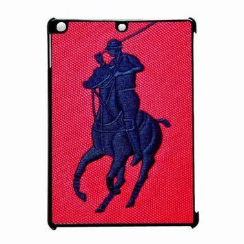 Polo Ralph Lauren Original Logo In Red iPad Air Case
