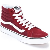Vans Sk8 Hi Slim Windsor Wine Shoes