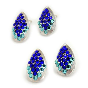 The Fashionista Earrings: Swarovski® Crystals