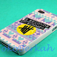 aztec 5 second of summer 5sos logo case iphone 4/4s case, iphone 5 case, iphone 5s case, iphone 5c case samsung galaxy case, galaxy s5 case