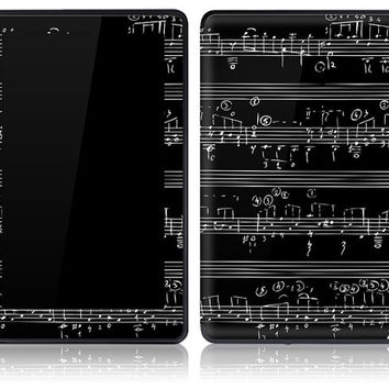 Amazon Kindle Fire Skin Cover - Music