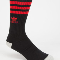 Adidas Originals Roller Mens Crew Socks Black/Red One Size For Men 26567312601