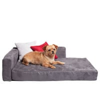 Dog Bed Couch - Dark Gray