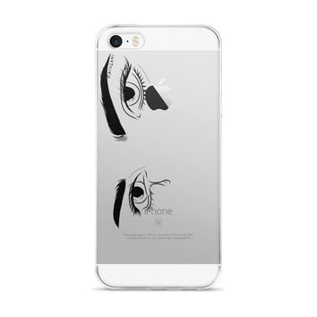 Graphic See Through iPhone Case