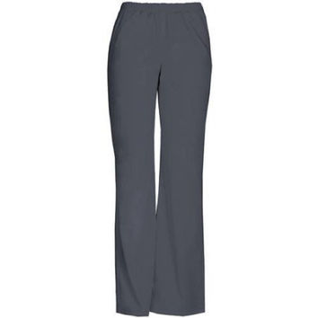 ScrubStar Women's Basic Pull On Scrub Pants, Large, Condor Grey, 90009
