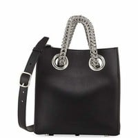 Alexander Wang Genesis Leather Chain-Handle Tote Bag