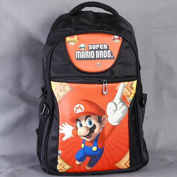 Super Mario party nes switch Classical Game  Laptop Black Backpack/Double-Shoulder/School/Travel Bag for Teenagers or Animation Enthusiasts AT_80_8
