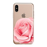 Pink Rose - iPhone Clear Case