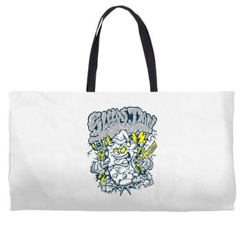 pillow monster Weekender Totes