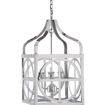 SHERMAN LANTERN - NICKEL