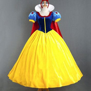 DCCK0OQ Halloween Costume Cloak Princess Dress [8978880327]