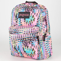 Jansport Black Label Superbreak Backpack Pink Pansy/Mammoth Blue A One Size For Men 20540934601