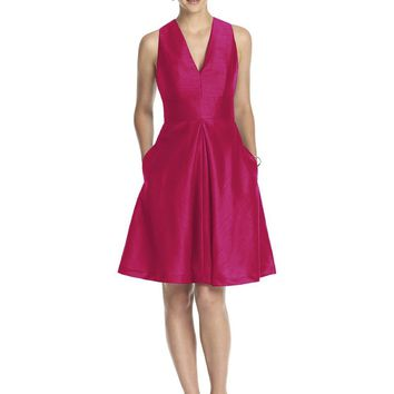 Alfred Sung - D610 Bridesmaid Dress in Sangria