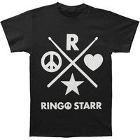 Ringo Starr Men's  Ringo Starr 2015 T-shirt Black