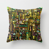 :: Windy City :: Throw Pillow by GaleStorm Artworks