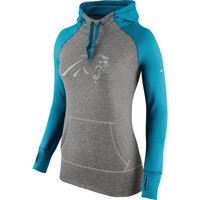 Carolina Panthers Nike Women's Platinum All Time Performance Hoodie – Charcoal