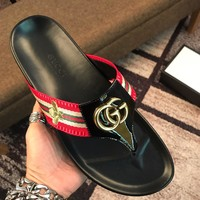 Gucci Men Fashion Boots  fashionable casual leather  Breathable Sneakers Running Shoes Sneake