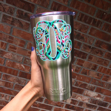 Double Layer Lilly Pulitzer Vine Monogram | Vine Monogram | Fancy Monogram | Lilly Monogram | Lilly Double Monogram | Preppy Monogram